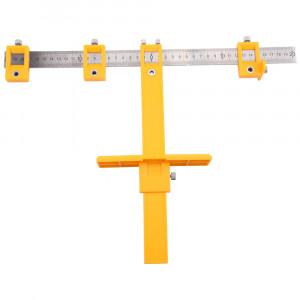 Marcador de Múltiplos Furos para Portas, Gavetas e Puxadores • LT2412