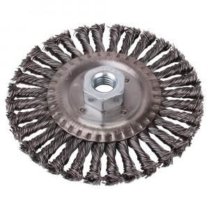 """Escova de Aço Trançada Circular 4.1/2 x 1/4"""" • LT2446"""